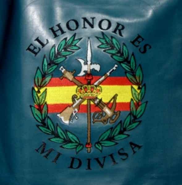 Bordado escudo de La Legión